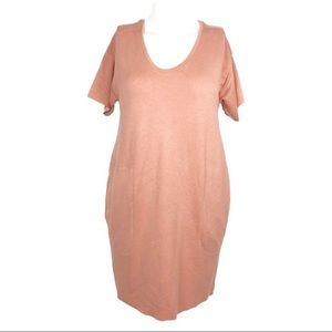 BOGO * Zara | S | W/B Collection Coral Dress D78